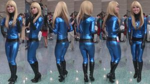Collages of Invisible Woman from Fantastic Four by trivto