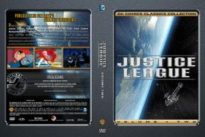 Justice League Volume 2 Custom DVD Cover by SUPERMAN3D