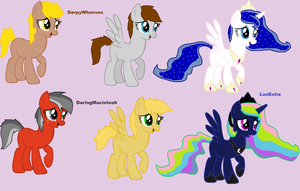 MLp Shipping adopts 2 by Honey-PawStep