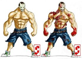 SPLATTERHOUSE RICK 2010 by grayfox78