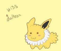 Chibi Jolteon by Lawlawruu