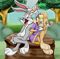 Looney Couple by JCThornton