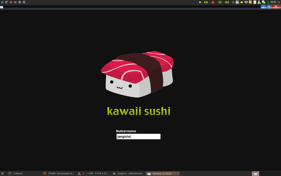 Sushi Kawaii - SLiM Theme by jorgicio