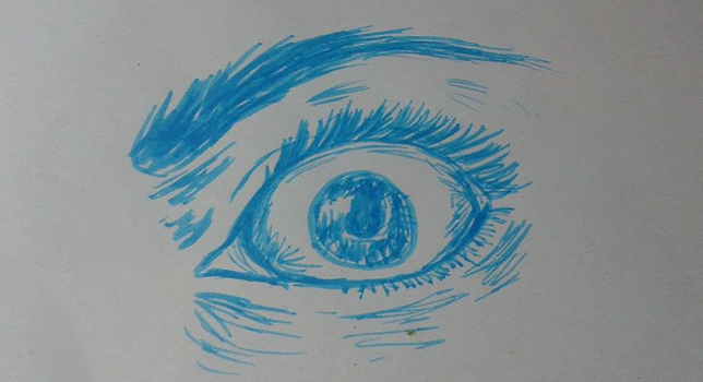 an Eye by domcastyle123