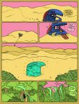 Death of the Turquoise Earth-Hawk page 1 by daturQuoiseSun
