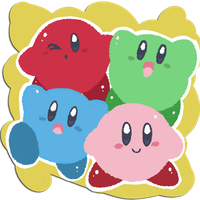 Kirby Squad by Paichii