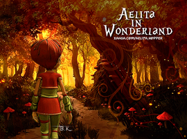 Aelita In Wonderland by BelievingIsSeeing