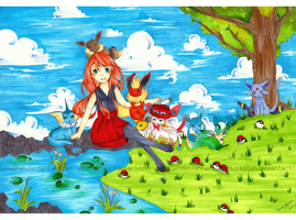 [ Pokemon XY - Eeveelution ] by lynchees