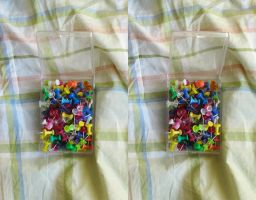 Stereograph - Pushpins by alanbecker