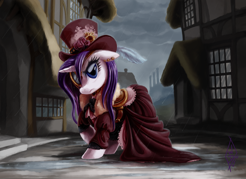 Commission: Steampunk Rarity by WhiteDiamondsLtd