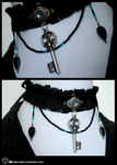 +__ Gothic key choker by Macabreskiss