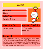 Chao Card: Jasmin by HeroineMarielys