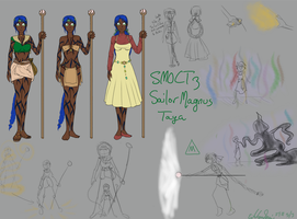 SMOCT 3 Reference Sheet - Sailor Magnus by Euri-EuropaNoSenshi