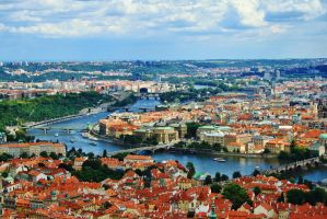 A view over Prague by sacadura
