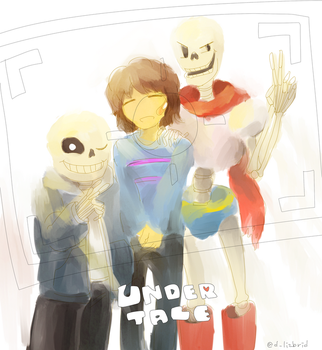 Undertale by Lizbrid