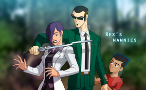 Rex's nannies by SunyFan