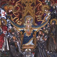 Our Lady of Chivalry by Theophilia