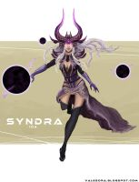 Syndra, the Dark Sovereign by ValeSora