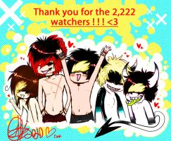 THANK YOU. 2,222 by Shark-Bites
