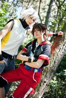 Dream Drop Distance - Sora + Riku by RoteMamba