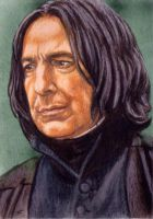Reason. Snape ACEO by Facenna
