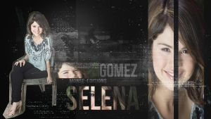 Wallpaper de Selena Gomez by Monse-Editions
