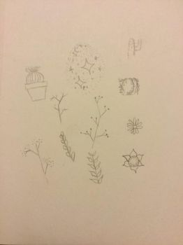 Plant sketches  by Concho10
