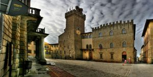 arezzo panorama by uurthegreat