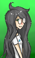 Homestuck Doodle - Jade Harley by abbic314