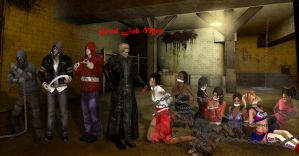 Crossover: L4D,DI,RE,LC - Bound by the infected by SovietMentality
