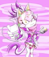 Blaze the Cat: Stylin' kitten by blazedacat