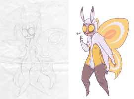 i drew moths before it was cool by Katarsium