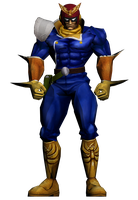 Captain Falcon GX Hi-Res by PortableNetworkGraph