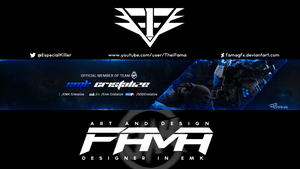EMK-Cristalize-Youtube-Banner-By-Fama by FamaGFX
