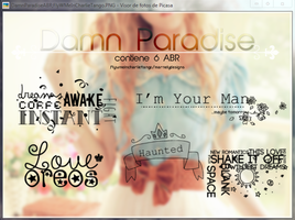+Brushes | DamnParadiiise by FlyWMeInCharlieTango