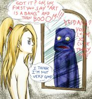 First work with my tablet..LOL by Lairam