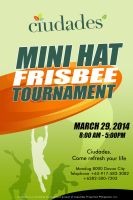 Ciudades Mini Hat Frisbee Tournament by PiccleFiccle
