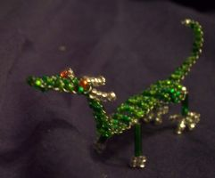 Beaded Dragon by akireru