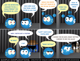 SC994 - Andy Has a Visitor by simpleCOMICS