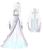 SoC--- Crystal Ball Dress Design by Kyandii-Chi