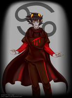 Homestuck - Karkat Vantas - Knight of Blood by Tagami-Crown