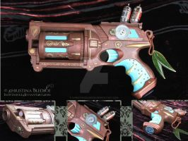 Steampunk Pistol by ChristinaBledsoe