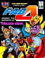 Fab Four Cover Issue 10 by Captain86