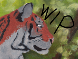 Tiger WIP by AngelInTheHeart