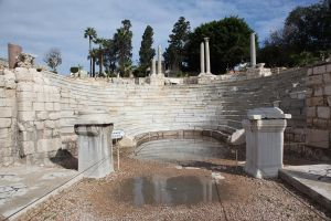 Greek theatre 1 by magikstock