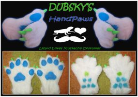 Dubsky-HandPaws by TheGreenCoyote
