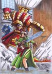 Miaka vs Executioner Copic by Thurosis