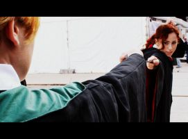 Already over _ Draco x Hermione Cosplay by equiclubecastello