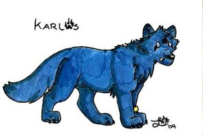 Chibi Stickers: Karlos by BlueLumi