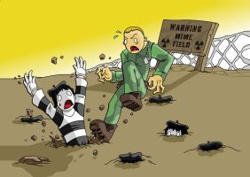 Mime Field by Cannibal-Cartoonist